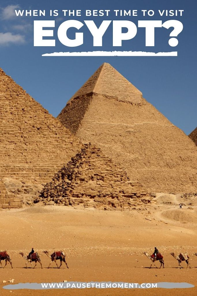 Best Time to Visit Egypt Pin V1