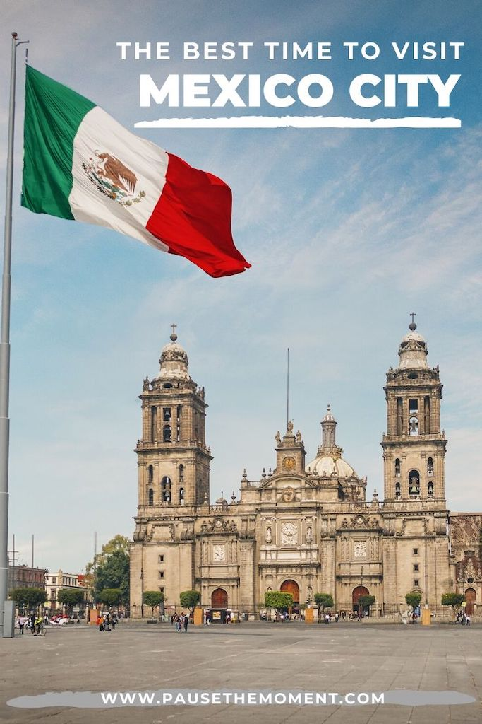 Best Time to Visit MEXICO CITY Pin