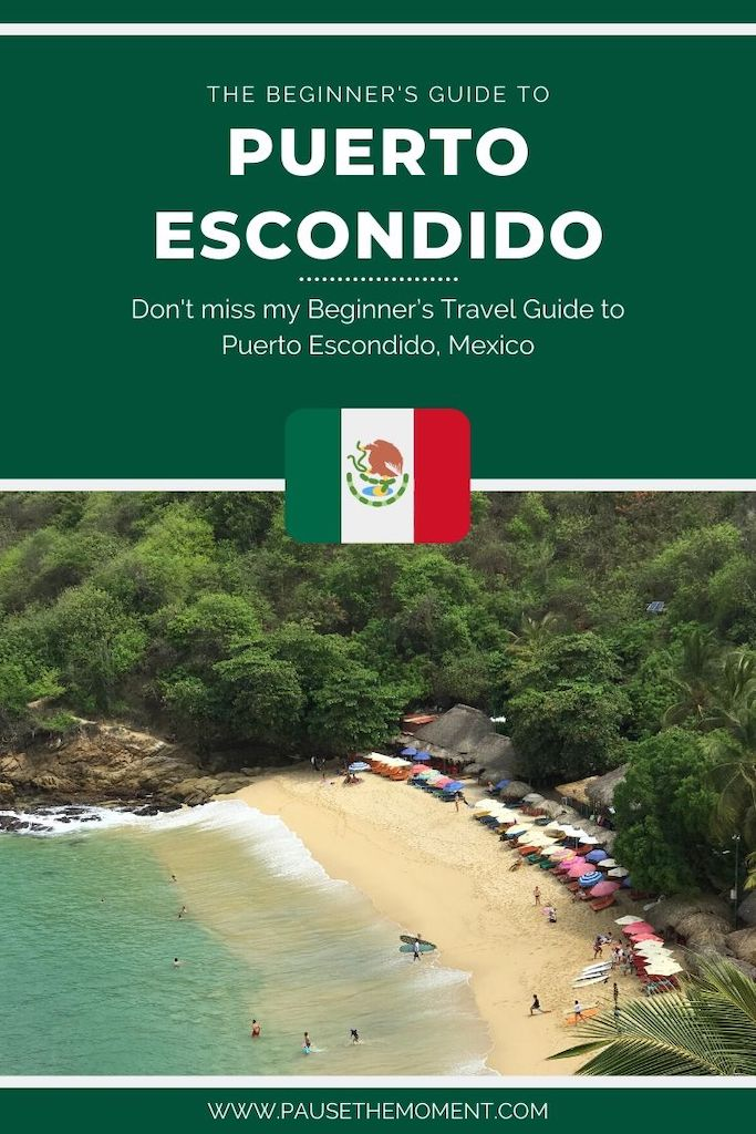 Puerto Escondido Travel Guide Pin