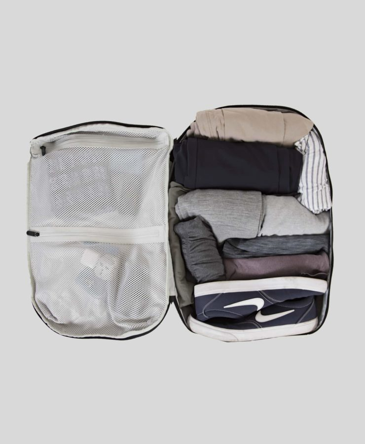 Prelude Travel Backpack_Interior