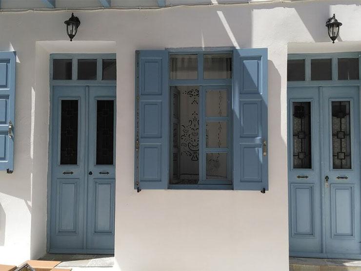 Stone and Wood House Nysiros