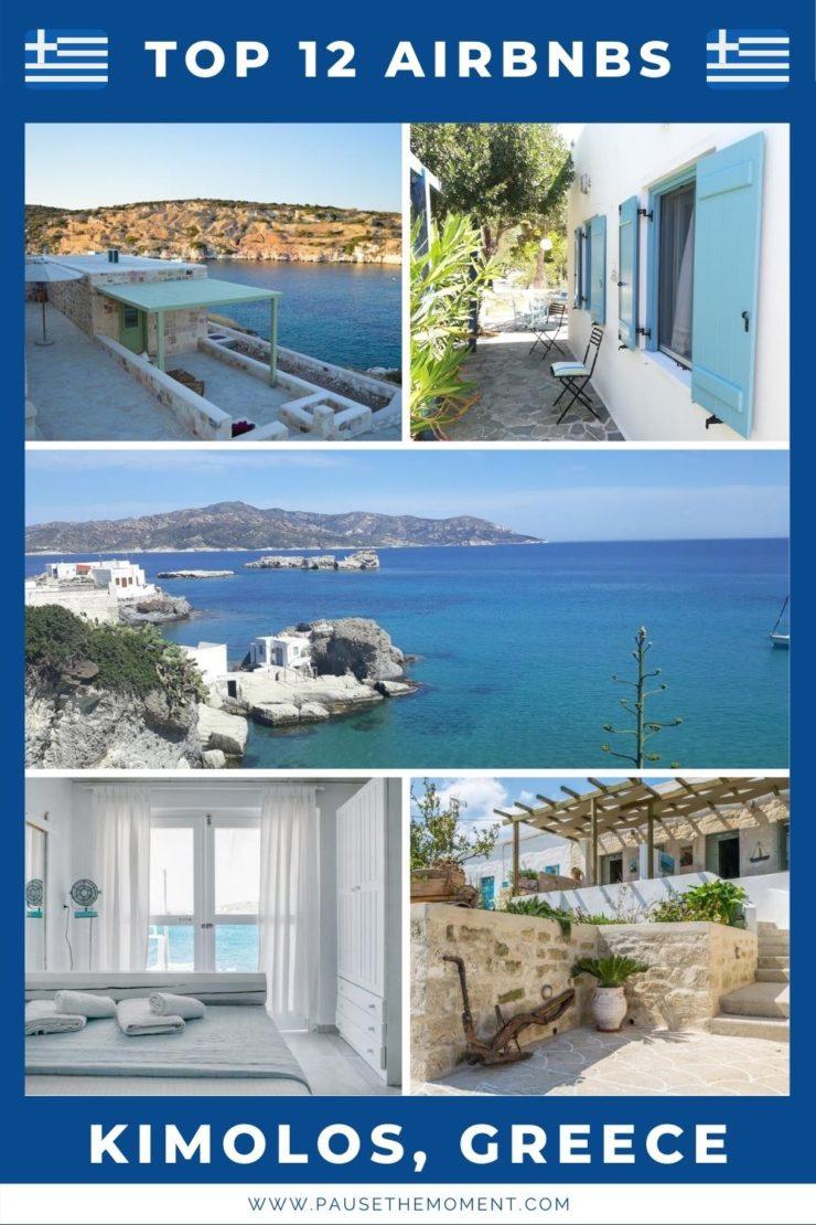 12 Best Airbnbs in Kimolos, Greece