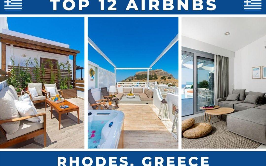 12 Best Airbnbs in Rhodes