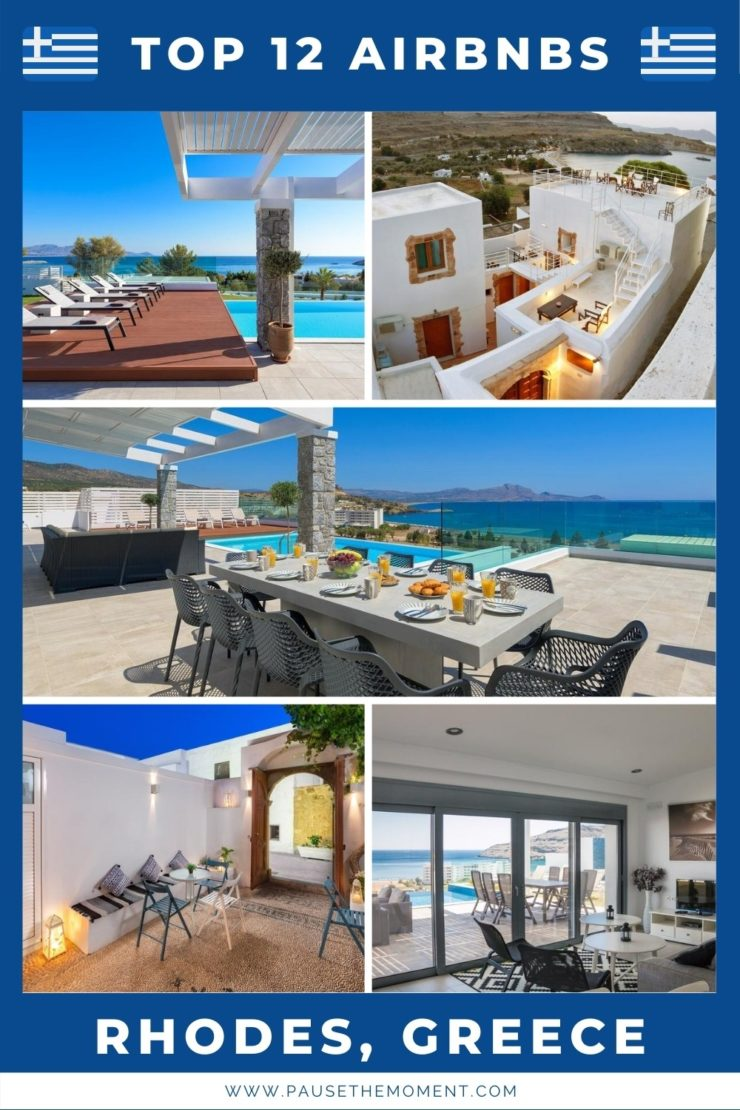 12 Best Airbnbs in the Greek Island of Rhodes