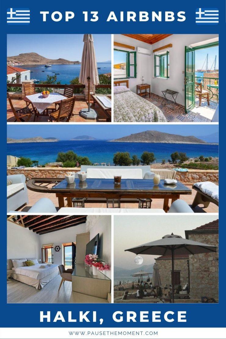 13 Best Airbnbs in Halki, Greece