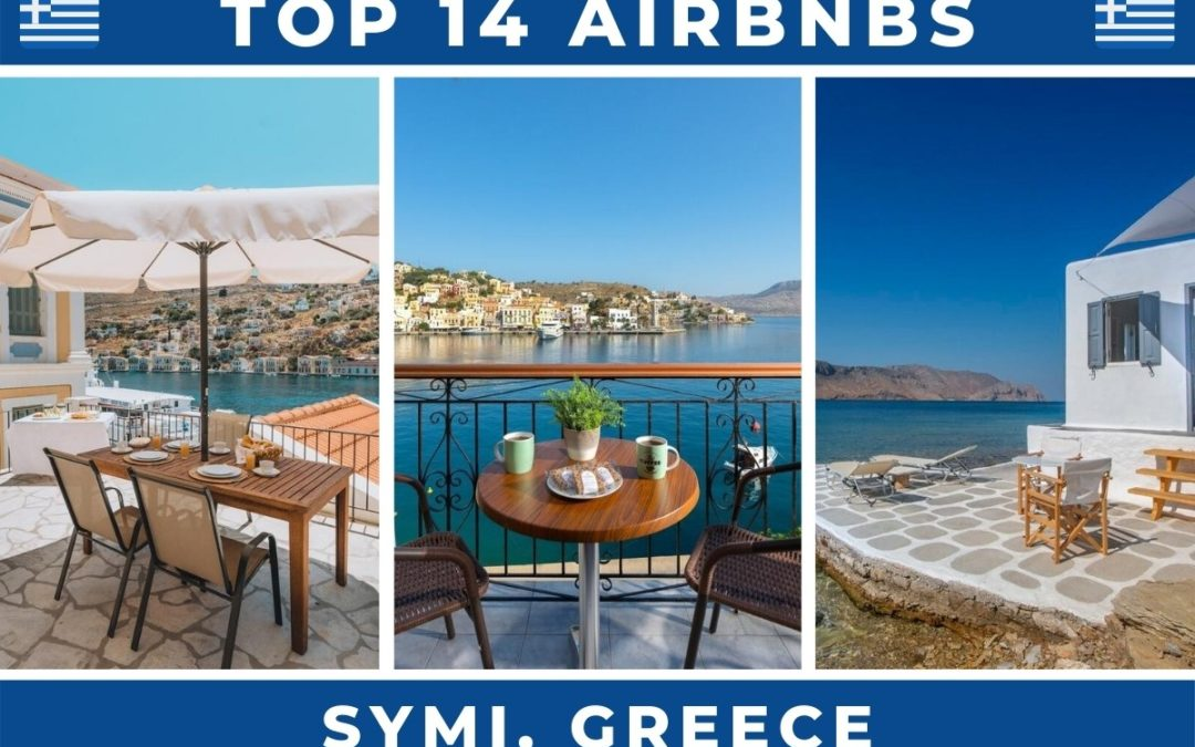 The Top 14 Best Airbnbs in Symi, Greece