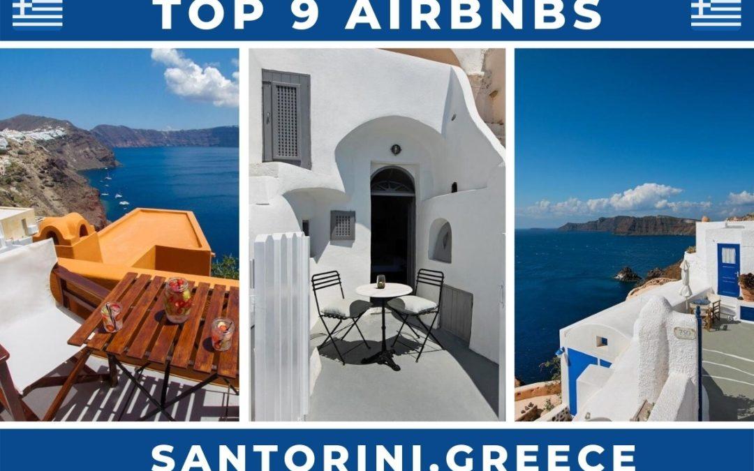 9 Best Airbnbs in Santorini