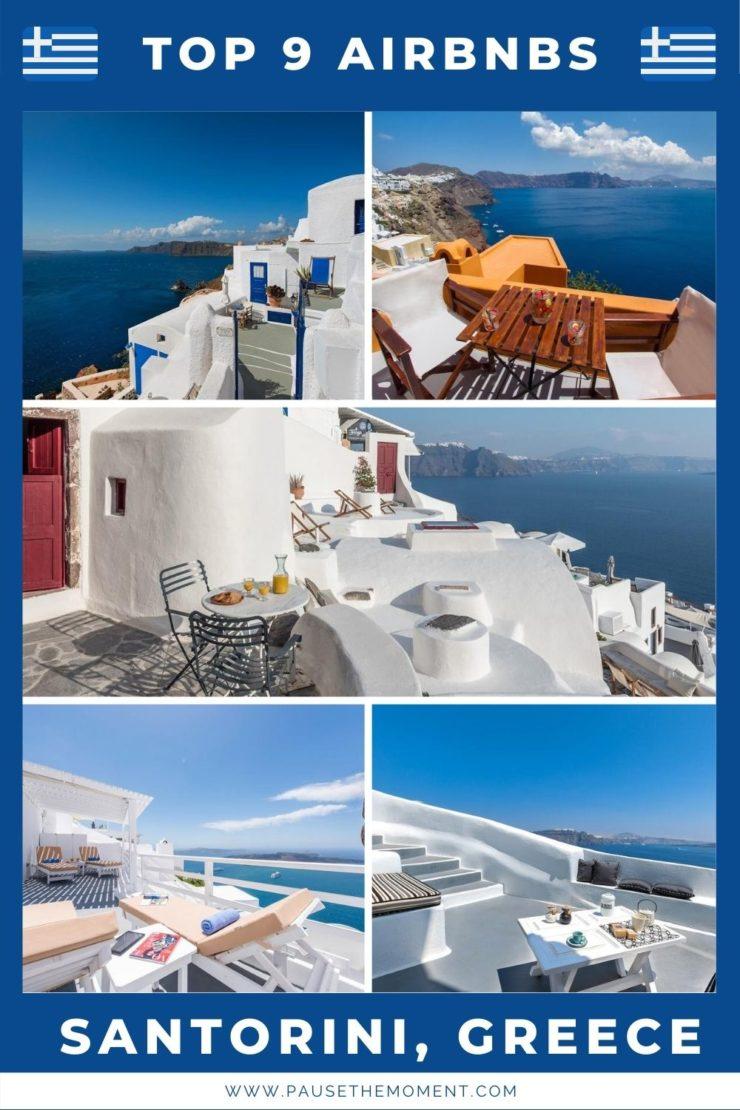 9 Best Airbnbs in the Greek Island of Santorini