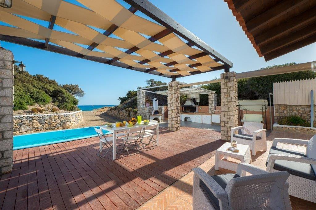 Beachfront Villa Cathrine in Rhodes
