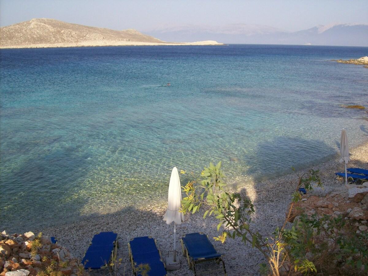 Beautiful Villa on Ftenagia Beach