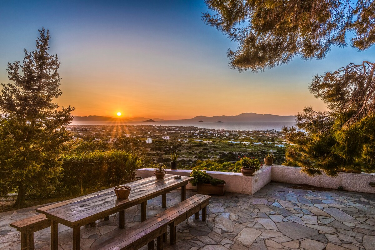 Home with a View in Aegina Island