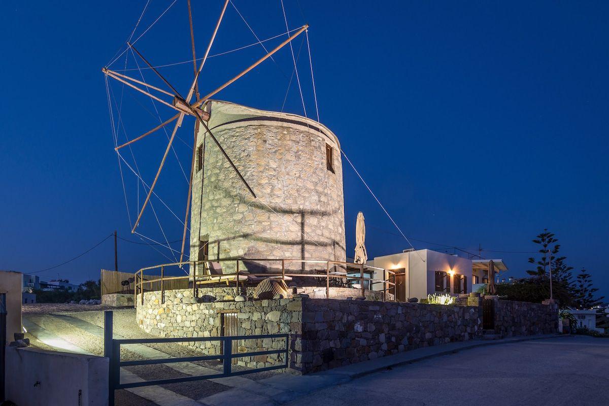 Milos Windmill Home