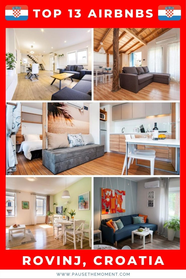 13 Best Airbnbs in Rovinj, Croatia