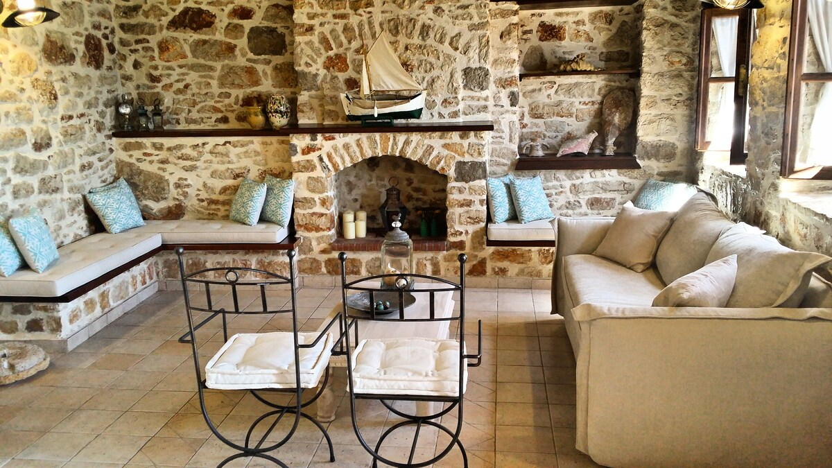 Seafront Stone Luxury Villa