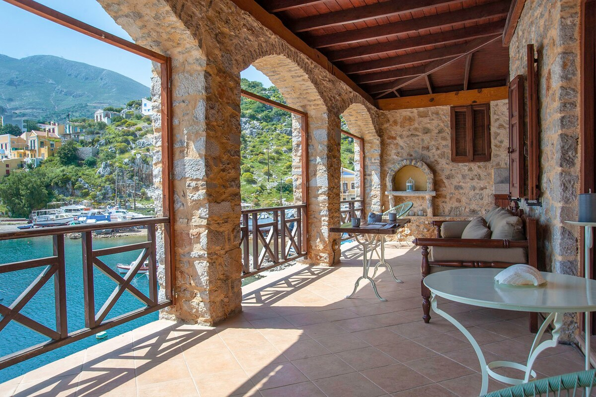 Symi Seafront Apartment
