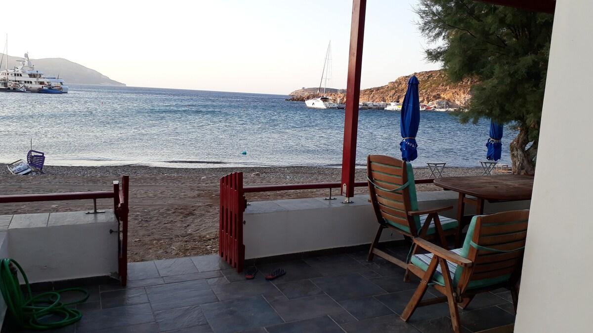 Traditional Cycladic Home in Kimolos