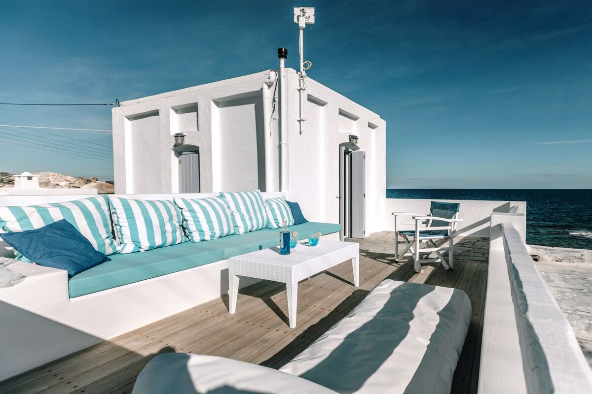 Milos Waterfront House