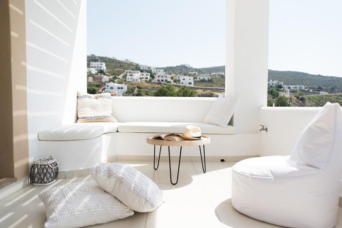Tramonto House Skala Patmos