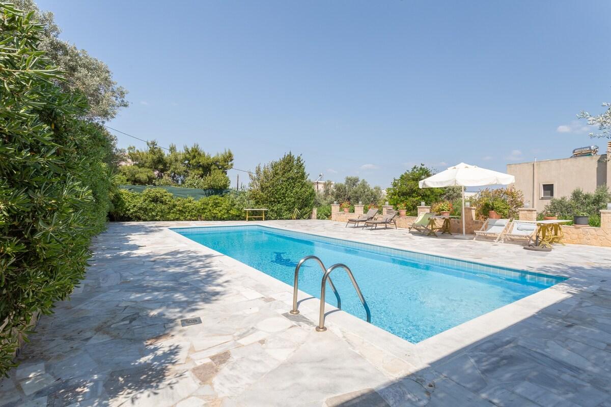 Villa Georgiou in Aegina