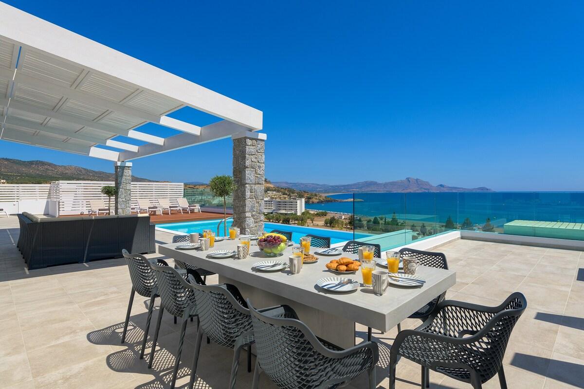 Villa Hermes in Lindos, Rhodes