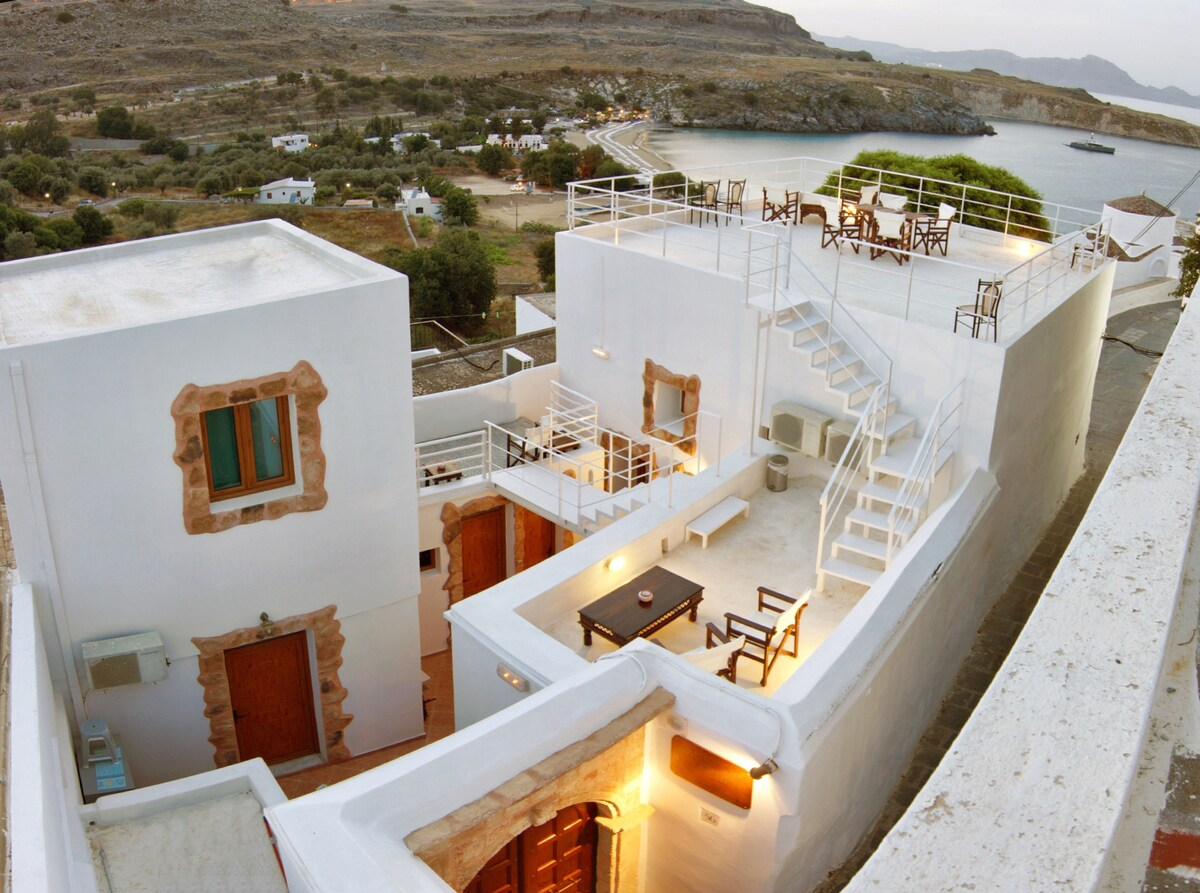 Villa Stavros in Lindos, Rhodes