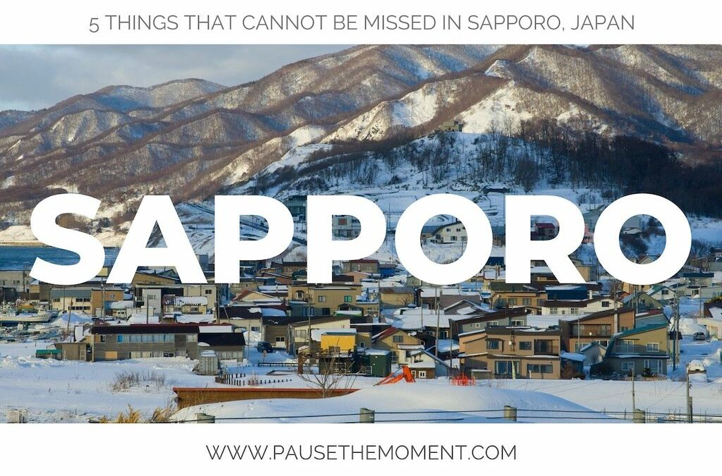5 Things that Cannot Be Missed in Sapporo, Japan